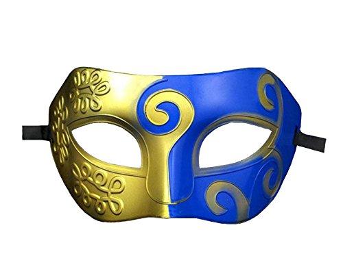 halloween mask Half face painting masks realistic silicone masquerade Knight Prince masks japanese mardi (Realistic Halloween Masks)