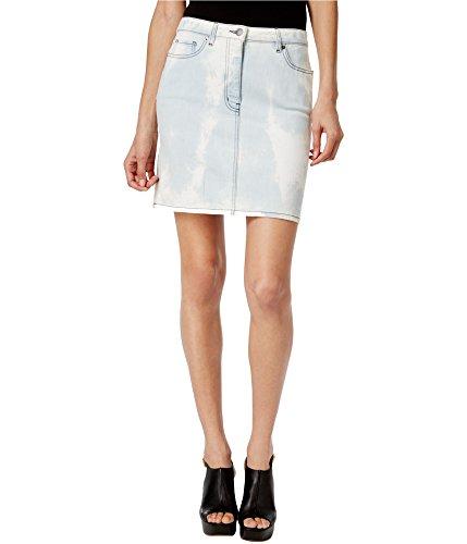 Love Moschino Womens Denim Pencil Skirt, Blue, 44