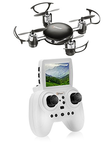 Top Race Rc Mini Spy Drone With Hd Camera Live Video  2 4 Ghz  Mini Fpv Drone With Lcd Screen   Tr Mq8