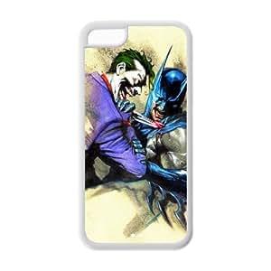 Case for iPhone 5C,Cover for iPhone 5C,iPhone 5C case,Hard Case for iPhone 5c,Batman Design TPU Screen Protector Hard Case for Apple iPhone 5c