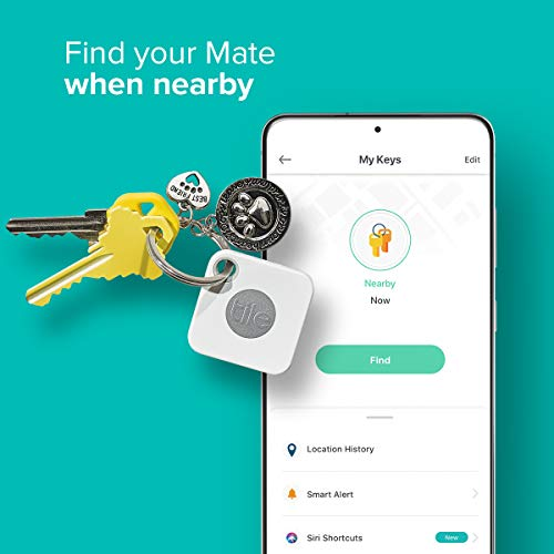 Tile Mate item locator and tracker