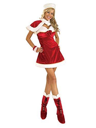 Christmas Santas Santas Costumes Inspiration Helper (Santa's Miss Inspiration Adult Costume -)