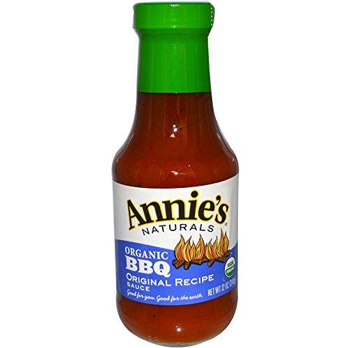 Annie's Naturals, Organic BBQ, Original Recipe Sauce, 12 oz (340 g)(PACK 1) - Natural Bbq Sauce