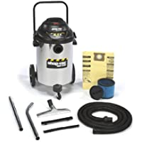 Shop-Vac 9625610 6.5-Peak Horsepower Right Stuff Stainless Steel Wet/Dry Vacuum, 15-Gallon