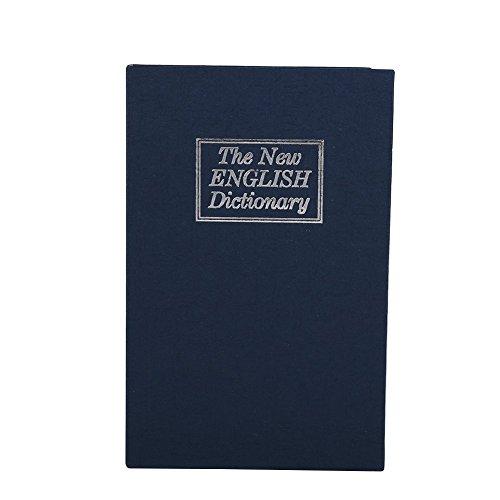 Caja de seguridad, Diccionario oculto Libro de desvío Caso de almacenamiento seguro con cerradura de combinación Secreto de...