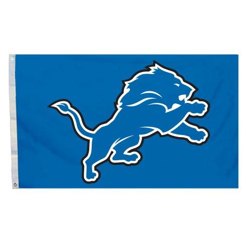 NFL Detroit Lions Flag with Grommetts, 3 x 5-Feet
