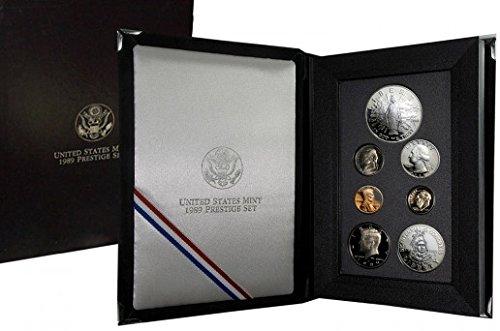 1989 S US Prestige Proof Set Comes in original US mint packaging PROOF ()