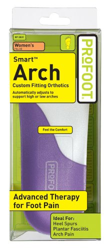 Profoot Care Smart Arch Women, Purple and White (Pack of 2) -