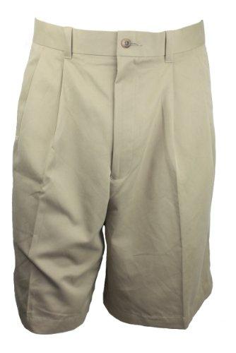 Perry Ellis Portfolio Mens Shorts (Khaki, (Perry Ellis Khaki)