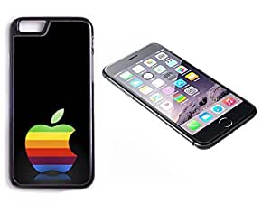 iPhone 6 Plus Black Plastic Hard Case with High Gloss Printed Insert Angry Birds