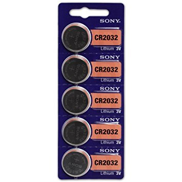 CR2032 Sony lith Coin Cell 3V 500 Pcs by Sony