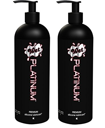 Wet Platinum Premium Lubricant 15.7oz/445g (Set of 2) by Wet