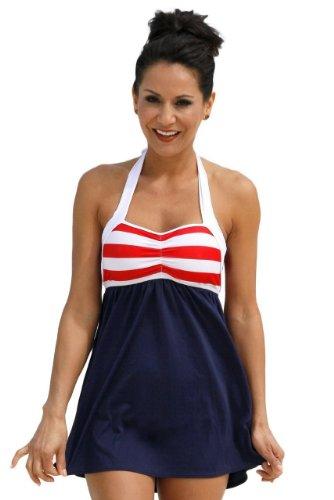 Sailor Girl Swim Dress Tankini Sold as Top, Bottom or Set at ...