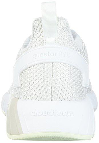 adidas Neo Damen Questar BYD W Grey One / Weiß / Aero Grün