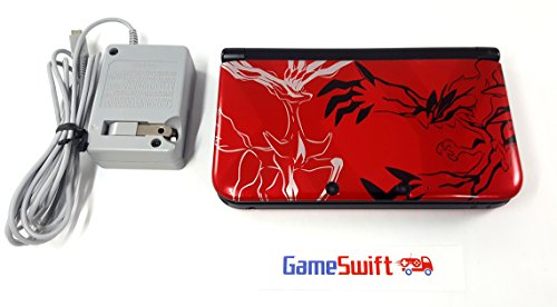 Nintendo Pokémon X & Y Limited Edition 3 DS XL (Red) (Pokemon X And Y 3ds Xl Console)