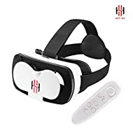 Hot Sky Mini VR Box Lunettes 3d améliorée VR casque de réalité virtuelle vidéo 3d Movie Game Lunettes pour 4.7 à 15,2 cm iOS Android smartphones iPhone 6 Plus Samsung Galaxy S6 edge + Htvrboxmini