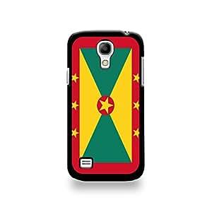 Coqsgs4m_70 LD carcasa protectora para Samsung Galaxy S4 mini-of Grenada de la bandera de