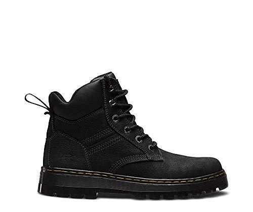 Quarter Nylon Black black Stivali Martens black Pu Dr Uomo Soft Tough Pit Extra wT7SXq7n