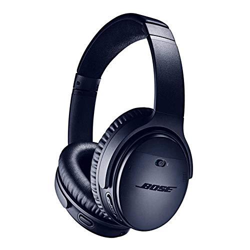 Bose QuietComfort 35 II – Auriculares Inalámbricos (Bluetooth, Cancelación de Ruido) con Alexa integrada, Azul (Triple…