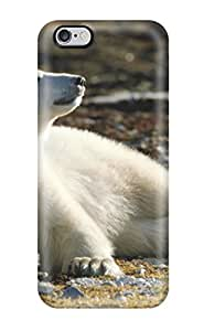 New DRigoQd275QWIvW Bear Picture Skin Case Cover Shatterproof Case For Iphone 6 Plus