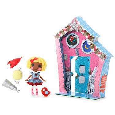 Lalaloopsy 3 Inch Mini Figure with Accessories Dot Starlight, Baby & Kids Zone