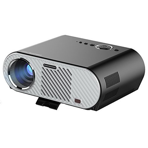 Projector(Warranty include),XINDA 2018 updated 200 inches 3200 LED Luminous efficiency 720P LCD Portable Multimedia Video Projector for Home Cinema Support Full HD 1080P HDMI VGA AV USB Input XD91 by XINDA