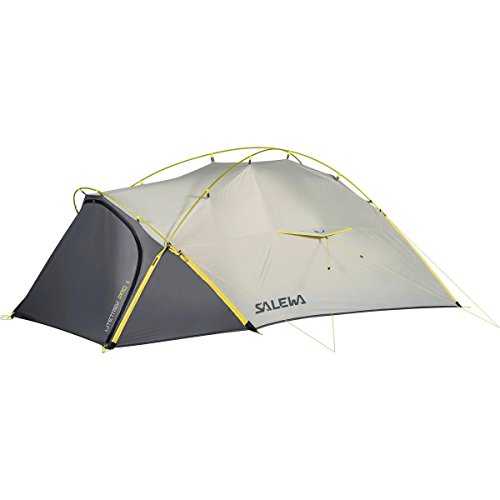 Salewa Litetrek Pro II Tent: 2-Person 3-Season Light Grey/Mango, One - Cirque Tent