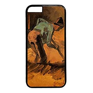 Vincent Van Gogh Design Black PC Case for Iphone 6 Excavation