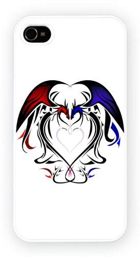Tattoo Heart Dragon, iPhone 5 5S, Etui de téléphone mobile - encre brillant impression