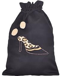 Spotted Leopard Shoe Bag
