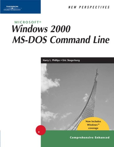 Download New Perspectives on Microsoft Windows 2000 MS-DOS Command Line, Comprehensive, Windows XP Enhanced (New Perspectives Series) Pdf