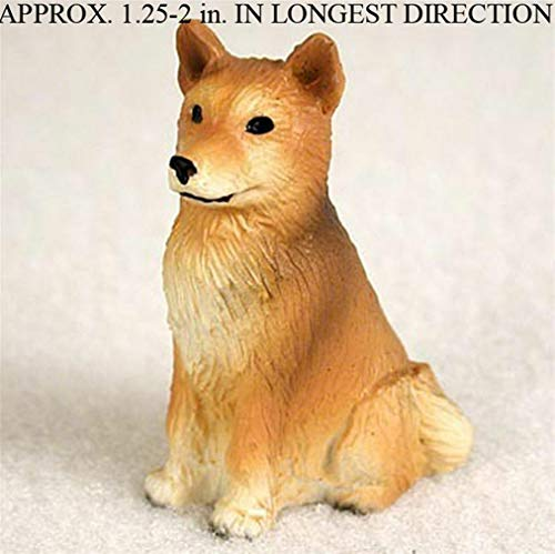 Ky & Co YesKela Finnish Spitz Mini Hand Painted Figurine