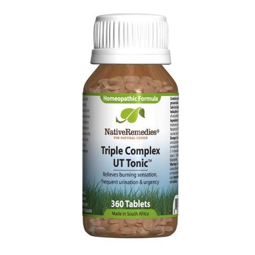 Native Remedies Triple UT complexe Tonic pour des voies urinaires et soutien continus de la vessie (360 comprimés)