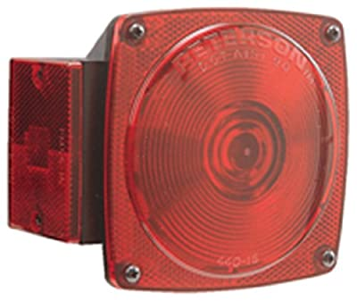 Peterson E440-15 Red Tail Light Replacement Lens (3000.0732)