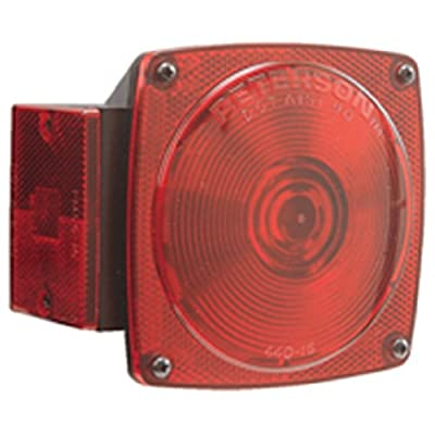 """Peterson 3000.0732 Manufacturing E440-15 440 Under 80"""" Taillight Replacement Lens: Automotive"""