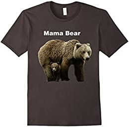 Mama Bear with Cub T-shirt