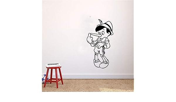 Dibujos animados Las Aventuras de Pinocho Pegatinas de Pared Para ...