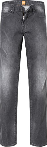 BOSS Orange Herren Jeans Orange24 Barcelona Baumwolle Denim-Hose Unifarben, Größe: 33/36, Farbe: Grau