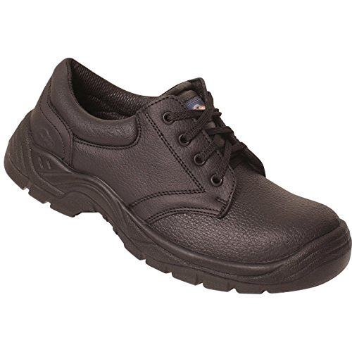 Rockfall Men's Steel Toe Basic Safety Shoe US Size 11 Black