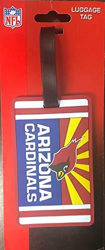 Arizona Cardinals Rubber Luggage Bag Tags Set of 2