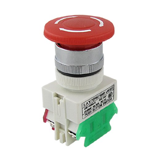 Self Locking Rotary Stop Emergency Push Button Switch