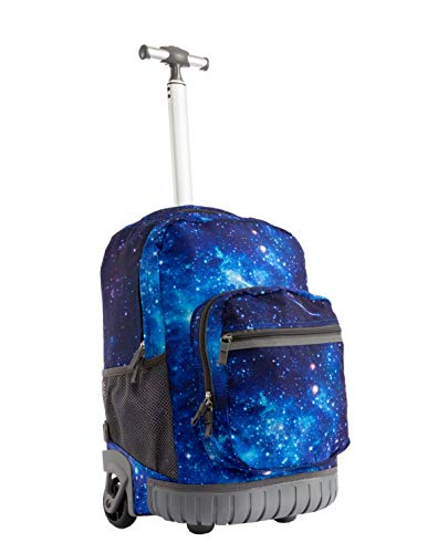 Seanshow Kids Wheeled Backpack Laptop Rolling Backpack
