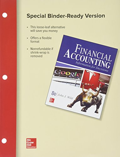 GEN COMBO LL FINANCIAL ACCOUNTING:INFORMATION FOR DECISIONS; CONNECT ACCESS CARD