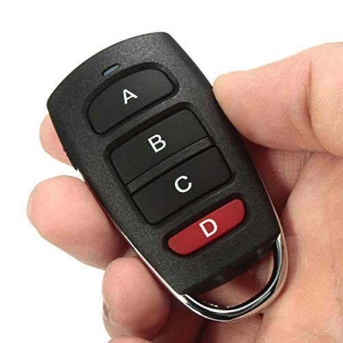 Key Remote for Car 3Pcs/5Pcs/10Pcs Universal 4 Buttons Cloning 433mhz Electric Garage Door Remote Control Key Fob