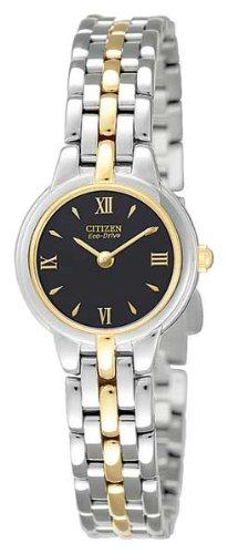 Citizen Bezel Bracelet - Citizen Women's Eco-Drive Stainless Steel Watch, EW9334-52E