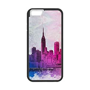 """Kellie-Diy New York City Design Solid Rubber Customized edOkOAG94MW Cover case cover for iPhone 6 plus 5.5"""""""