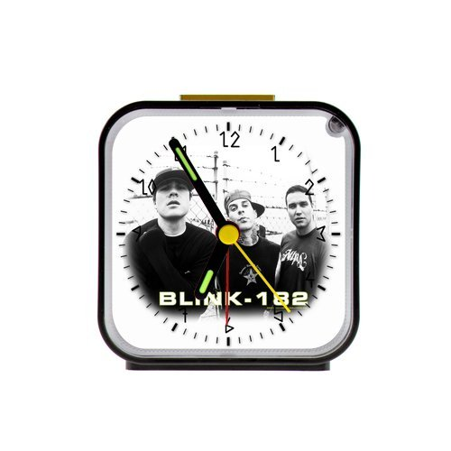 G-Store Blink 182 Band Art Alarm Clock as a Nice Gift