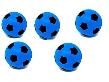 E-Deals balón de fútbol de Espuma Suave - Paquetes, 20 cm, 5 ...