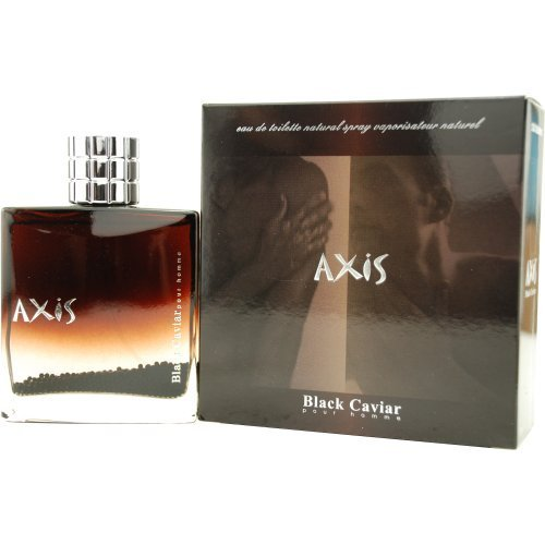 De Toilette Axis Eau Black (Axis Black Caviar Pour Homme By Sense Of Space For Men. Eau De Toilette Spray 3.0 Oz.)