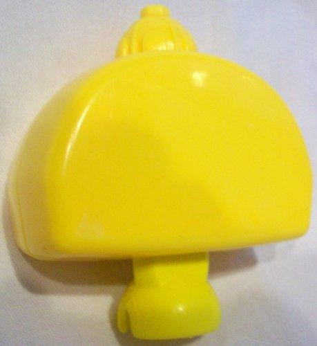 Mattel Fisher Price Pop Onz Pop 'N Stack Blocks, Pop-onz Barnyard Blocks Pop-onz Building System - Jungle Block Bucket, Yellow Replacement Figure Toy